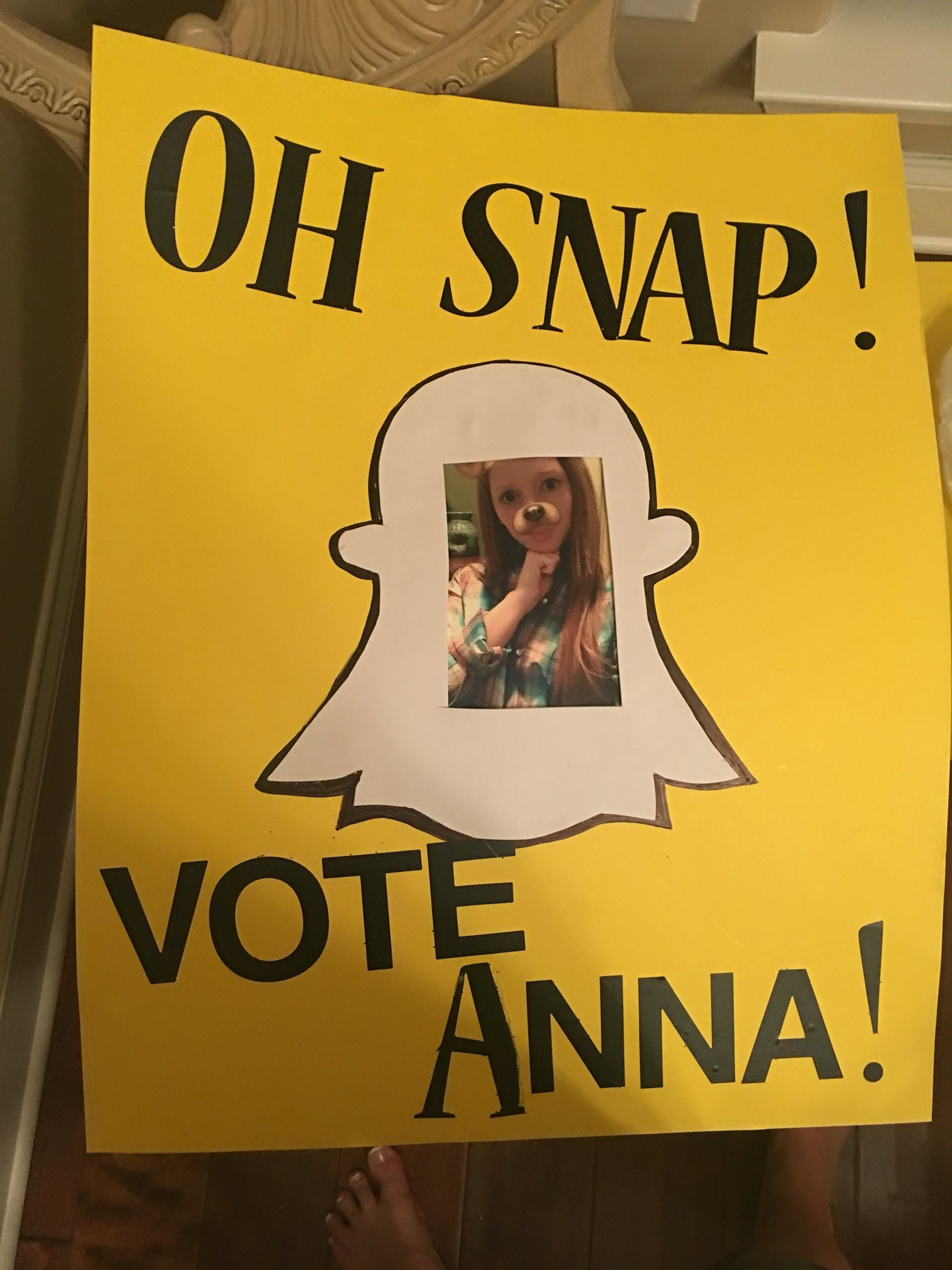 10 Most Popular Vote For Me Poster Ideas