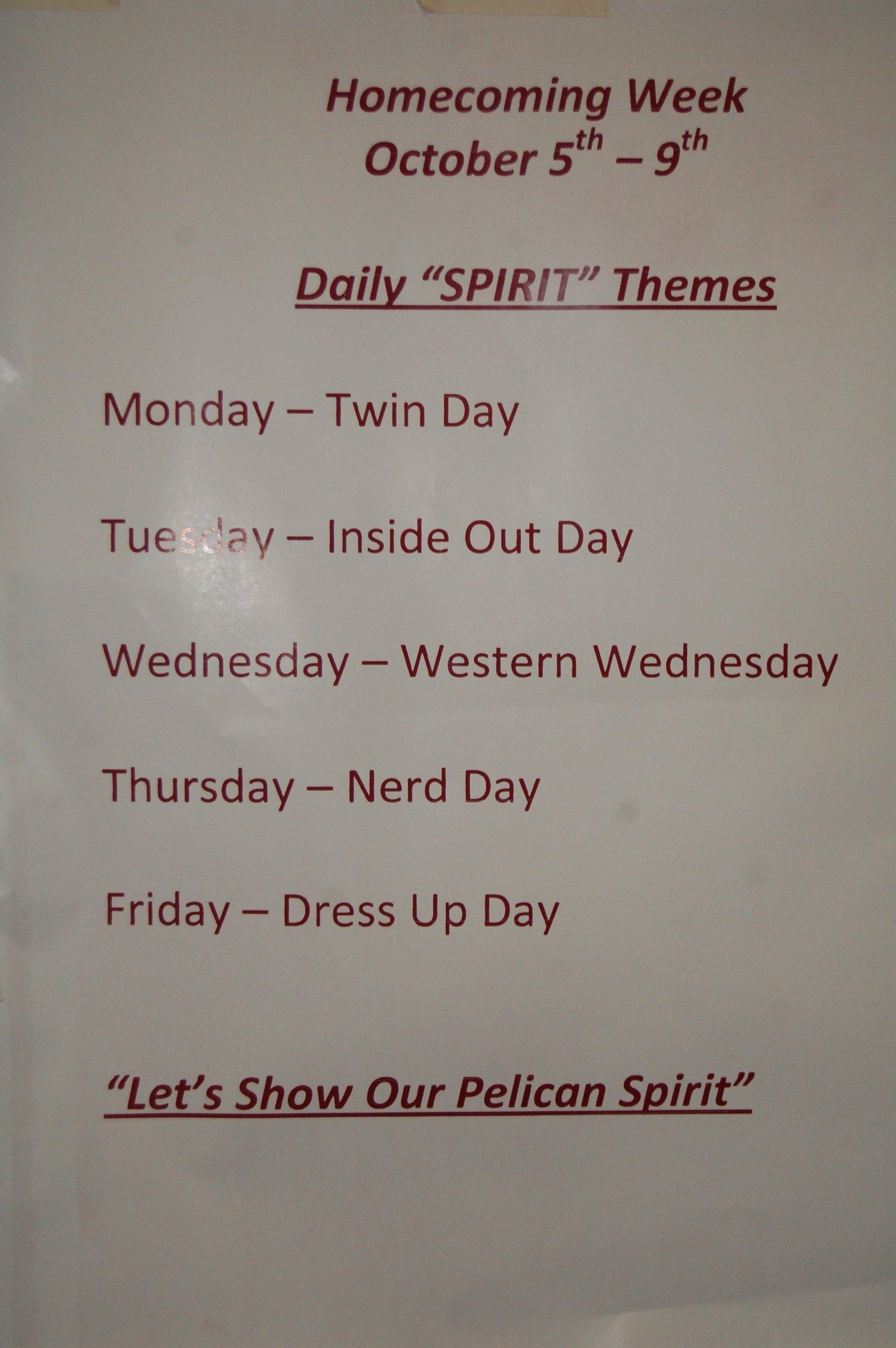 10 Perfect Homecoming Week Dress Up Ideas homecoming week student photos homer high school 2021