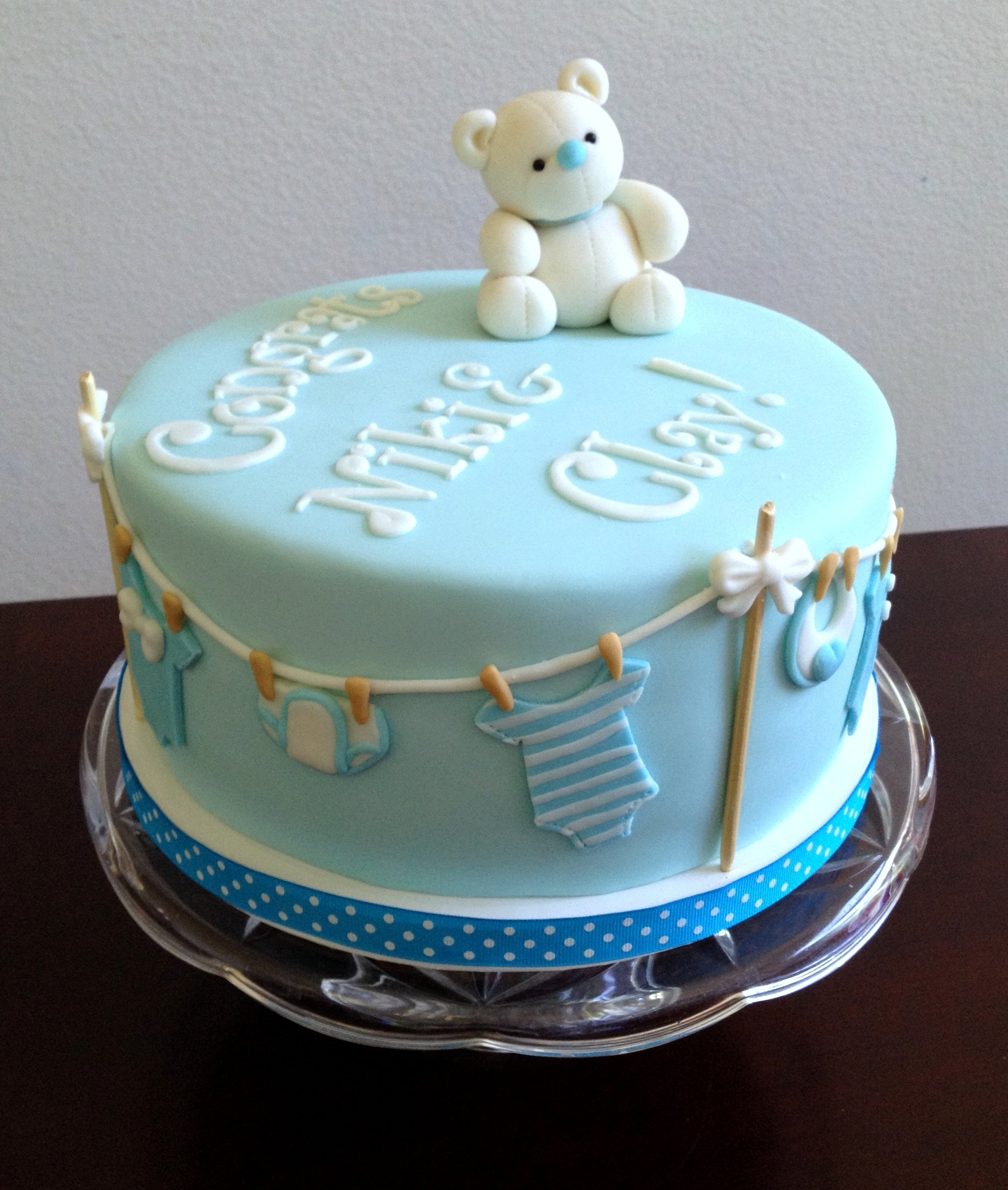 Trendy Baby Shower Themes: 10 Trendy Baby Shower Cake Ideas For Boys