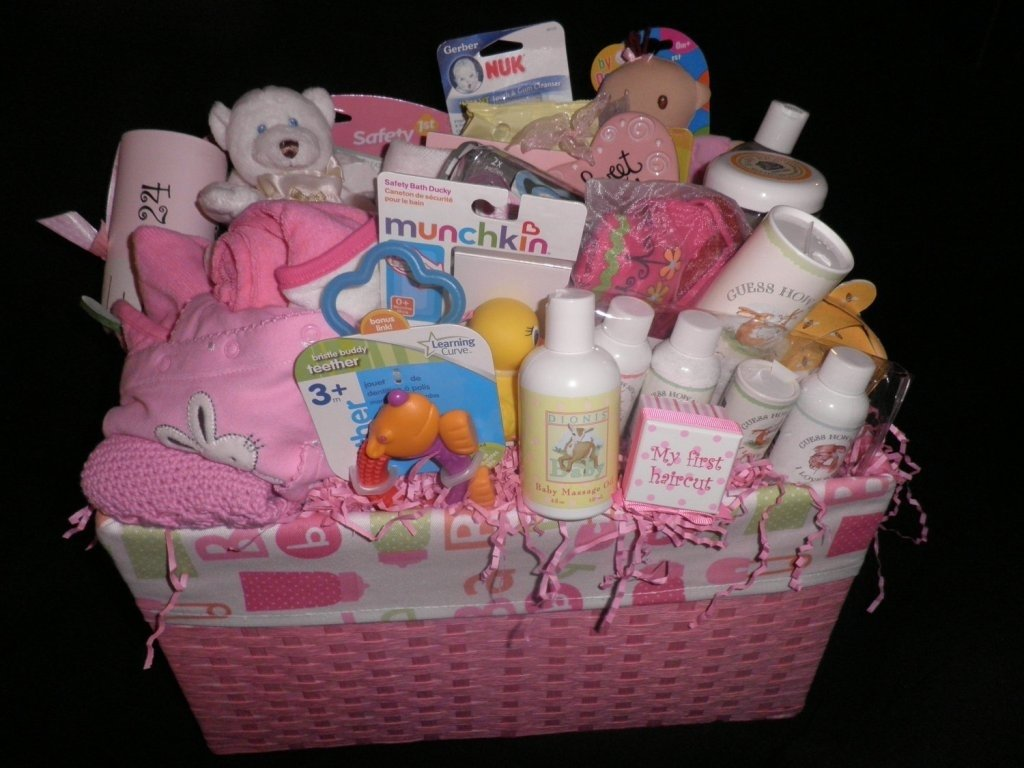 10 Stunning Baby Shower Gift Basket Ideas 2019