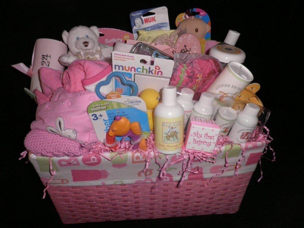10 Lovable Baby Girl Gift Basket Ideas homemade baby shower gift baskets ideas baby wall baby shower 2
