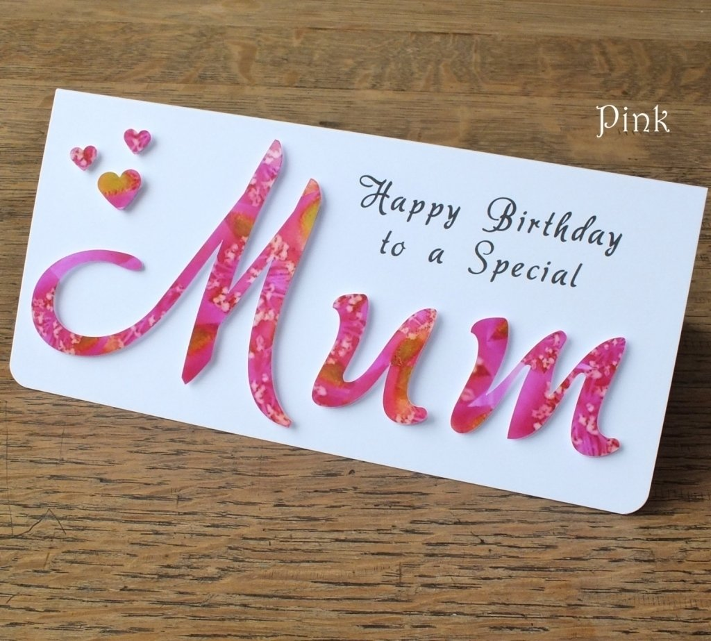 10 Lovely Homemade Birthday Ideas For Mom Card From Daughter