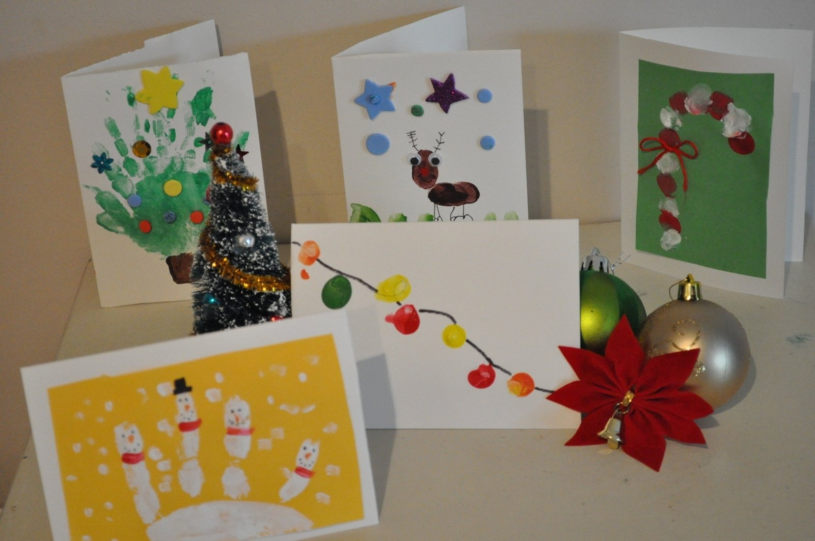 homemade christmas card ideas to do with kids • brisbane kids