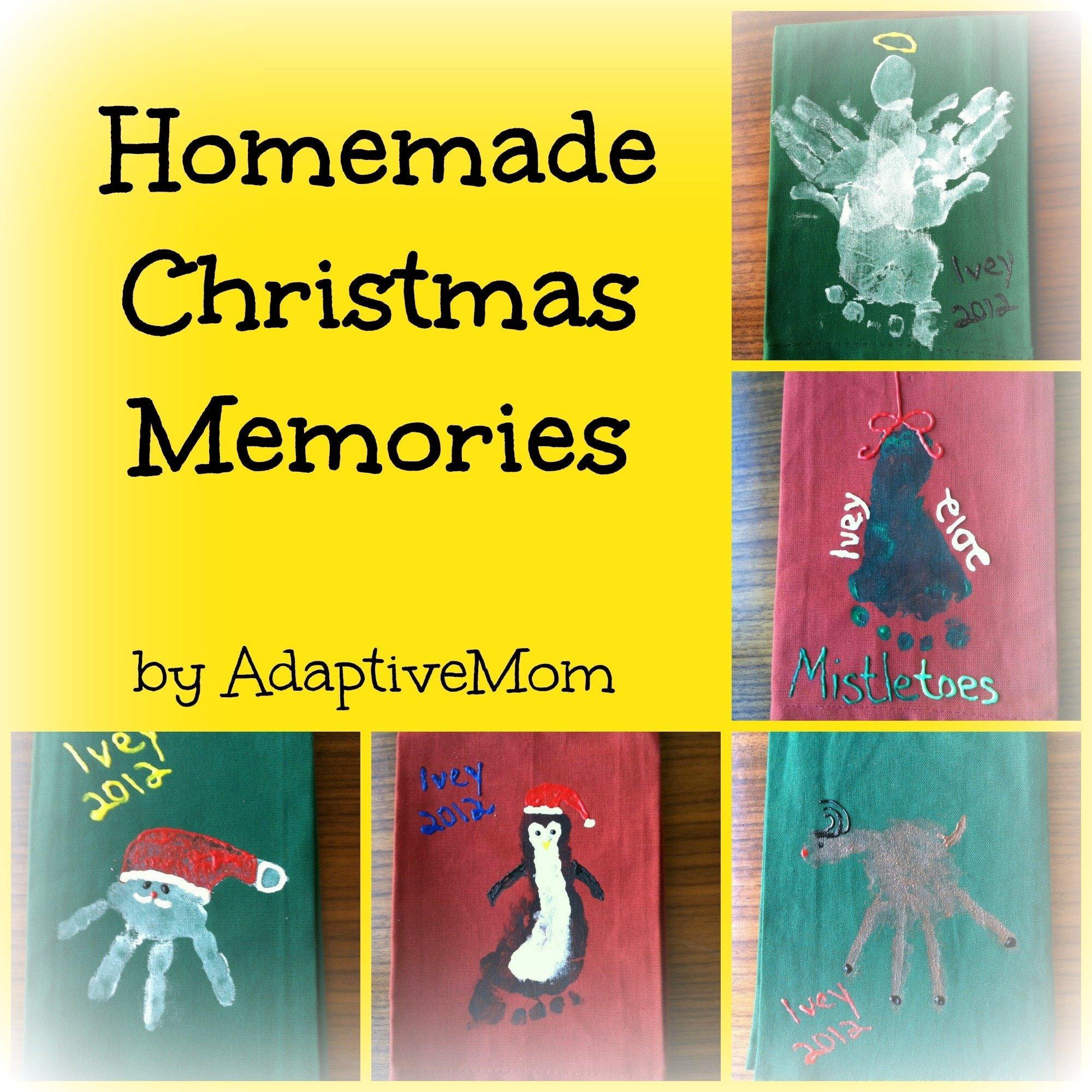 10 Nice Homemade Christmas Gift Ideas For Mom homemade christmas memories the adaptive mom 2020