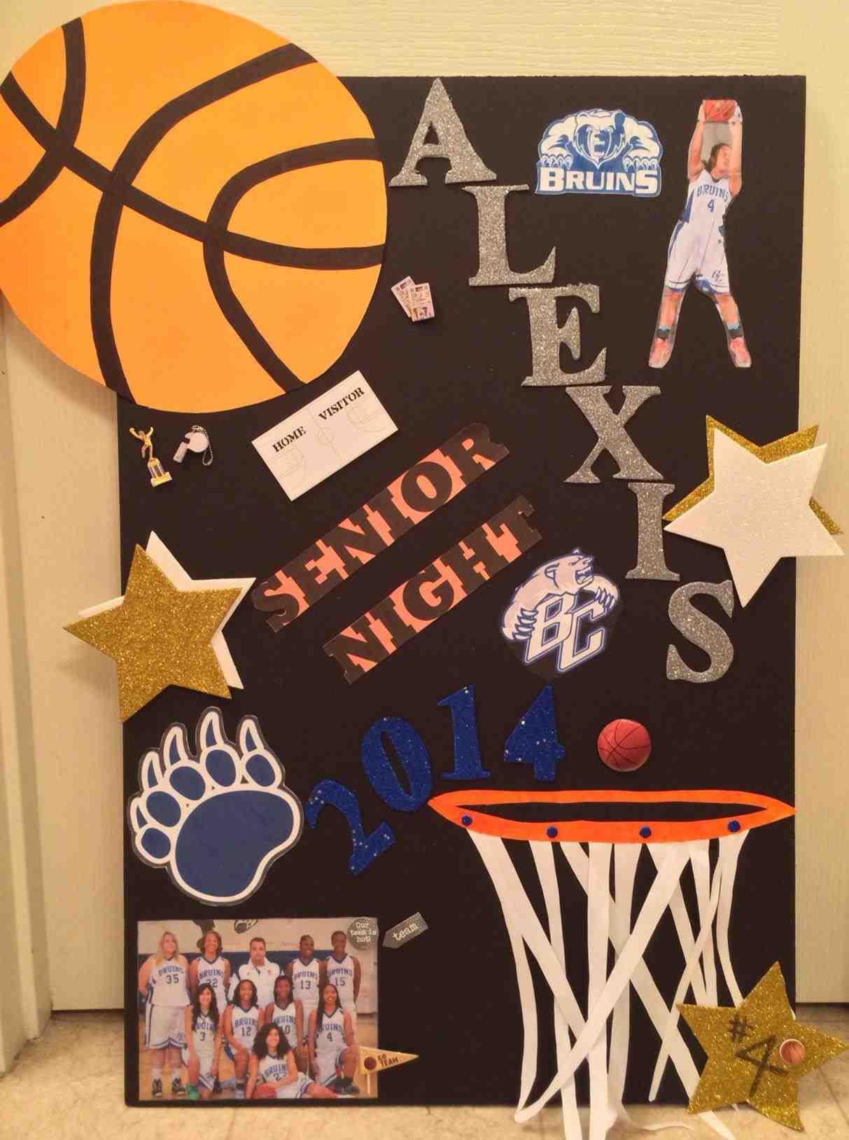 10 Gorgeous High School Basketball Poster Ideas homemade football posters hashtag bg 2020