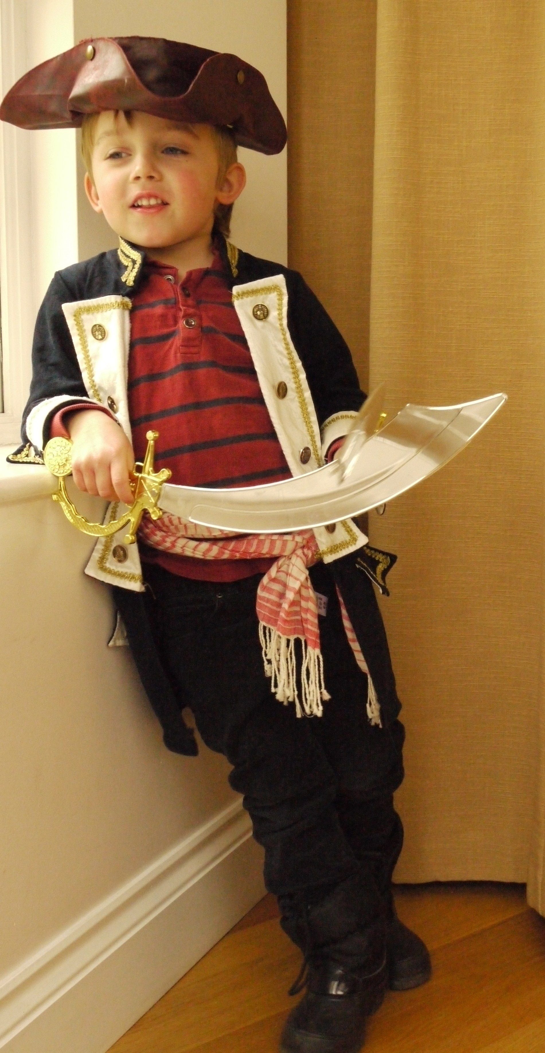 10 Attractive Homemade Pirate Costume Ideas For Kids homemade kids dressing up costumes pirate coat pirate dress
