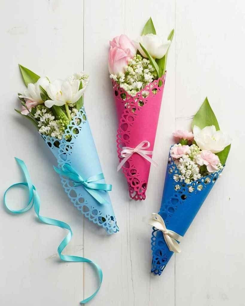10 Fashionable Homemade Mother Day Gift Ideas homemade mothers day gifts diy doily flower wrapping martha 2020