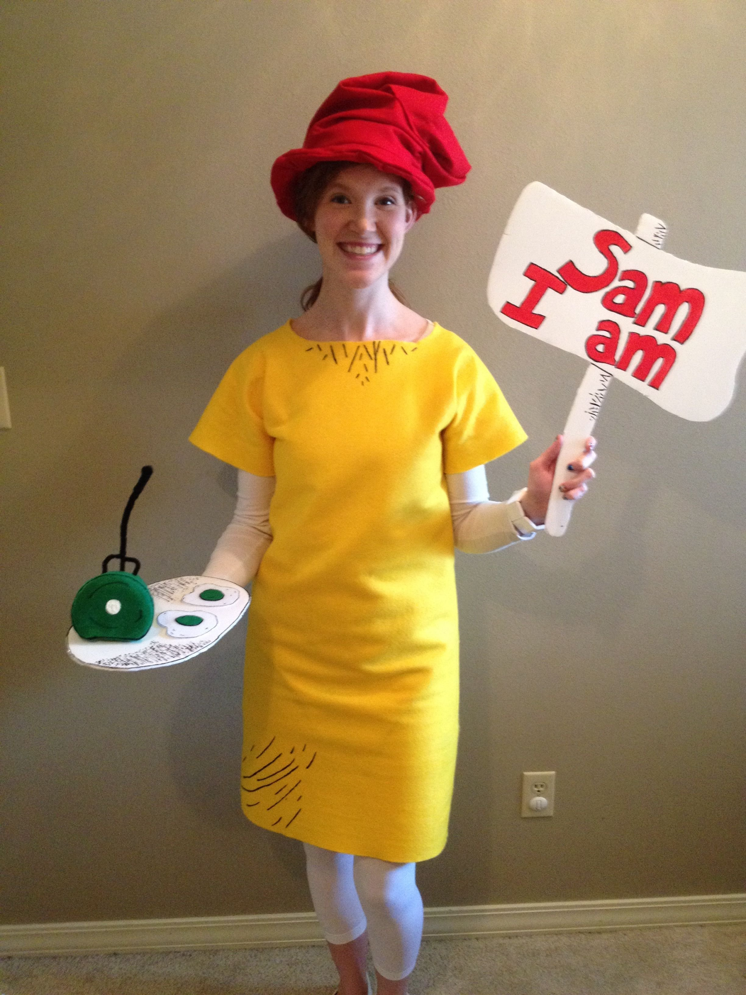 10 Stylish Dr Seuss Costume Ideas Homemade homemade sam i am costume for the last day of dr seuss week felt 2020