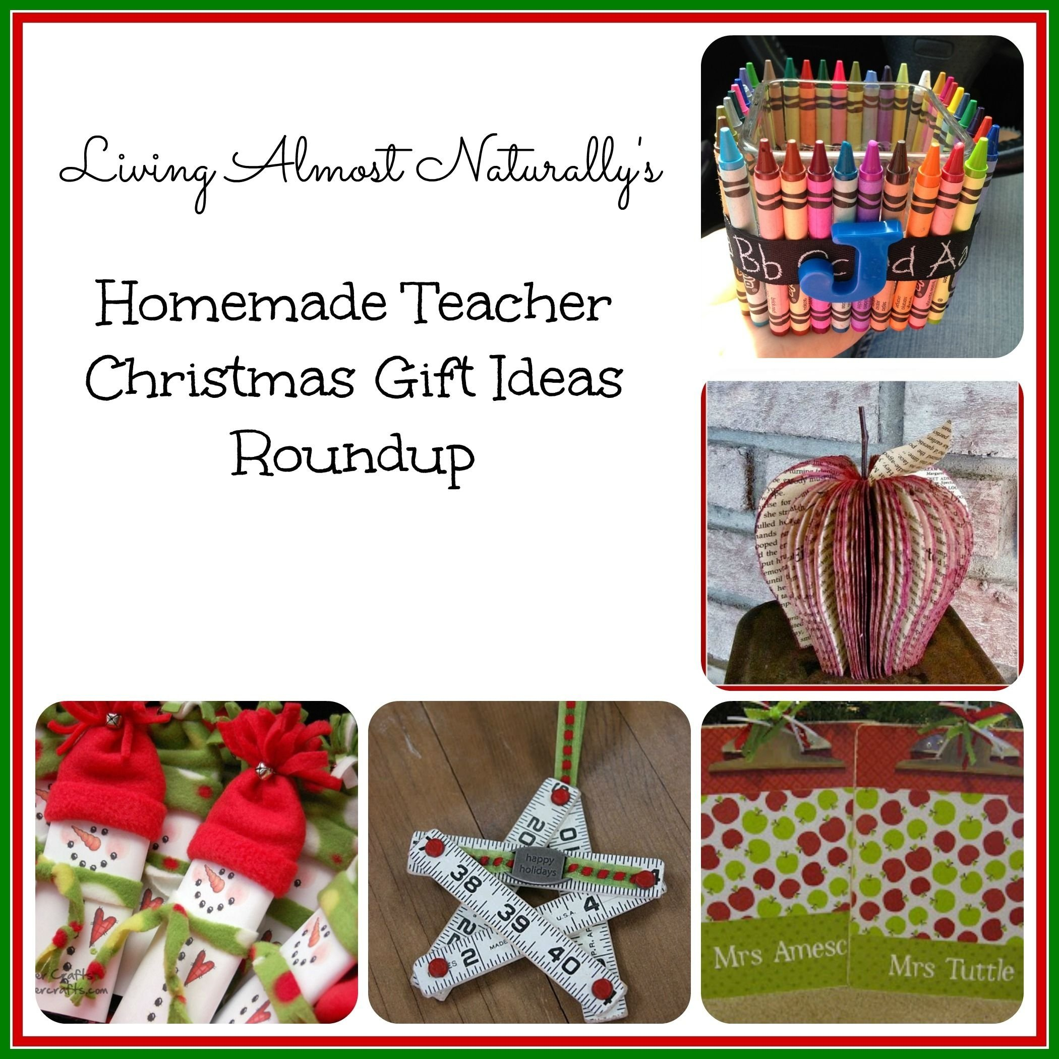 10 Stylish Good Ideas For Christmas Presents homemade teacher christmas gifts roundup 2100x2100 pixels