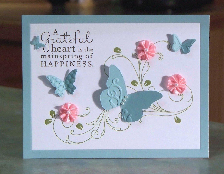 homemade thank you card designs | flogfolioweekly