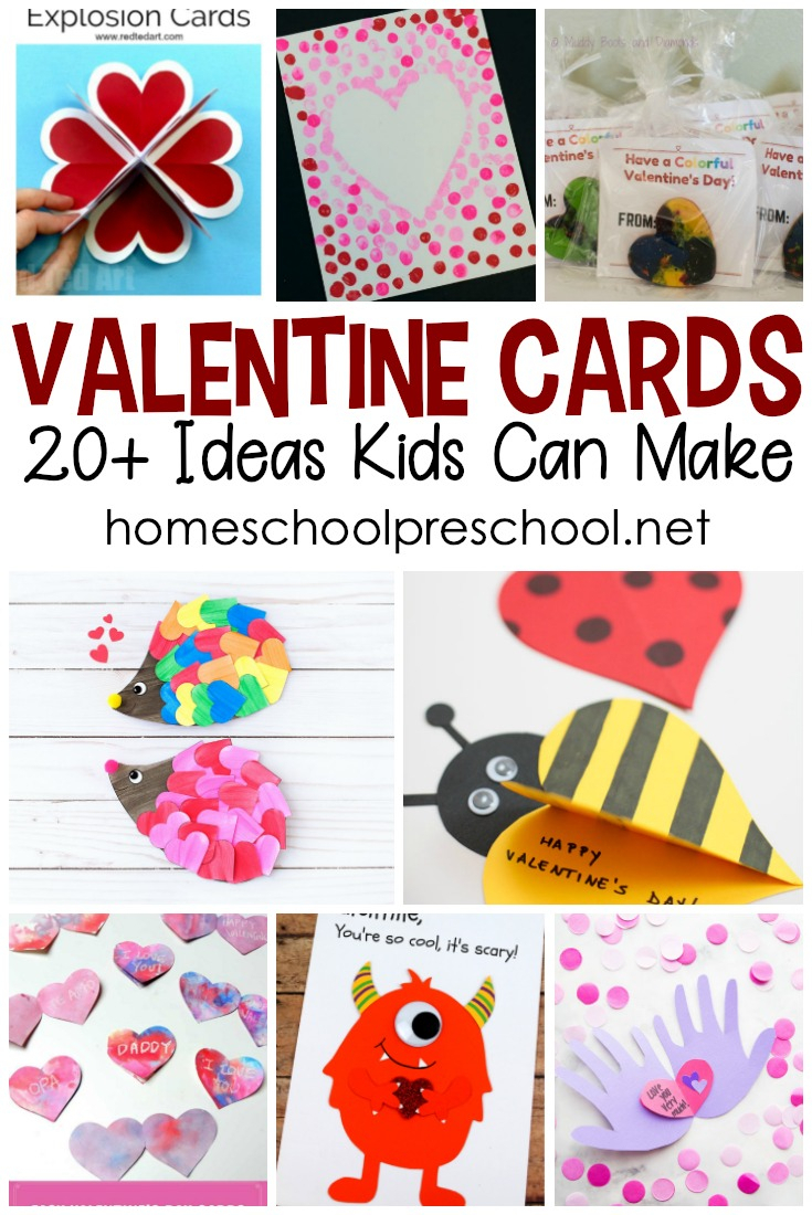 10 Best Valentine Card Ideas For Kids To Make homemade valentine cards kids will love to make 2020