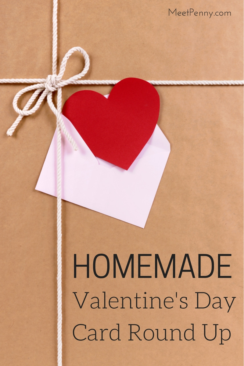 10 Lovely Cute Valentines Day Card Ideas homemade valentines day card round up meet penny 2020