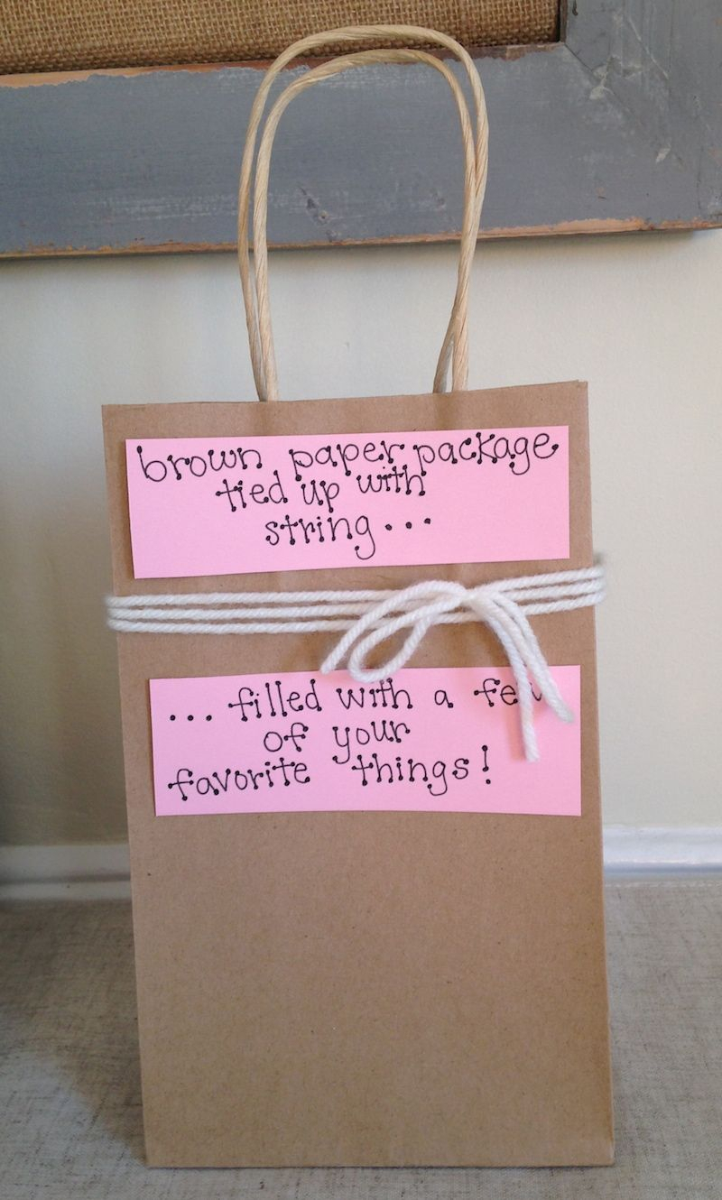 homemade valentines day gift bag idea for him - the newlyweds