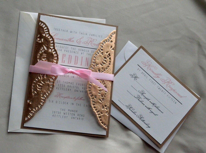 10 Cute Do It Yourself Wedding Invitations Ideas homemade wedding invitation ideas also unusual wedding invitations 2021