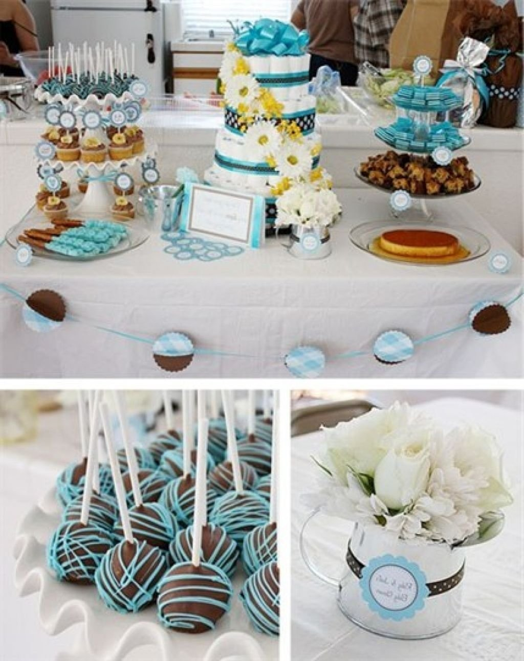 10 Lovely Ideas For Baby Shower Boy homey ideas baby shower snacks boy home design wedding 2020