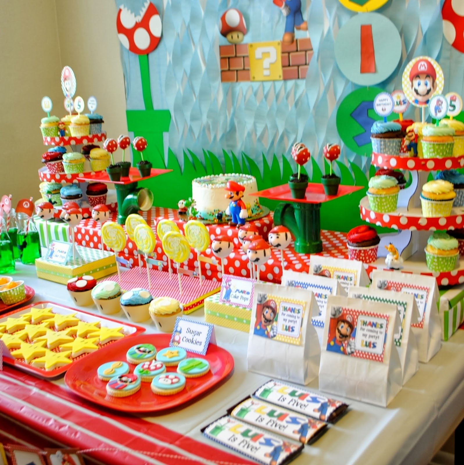 homey mario and sonic birthday party supplies and mario kart