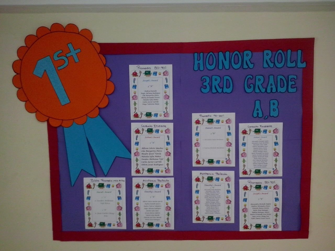 honor roll bulletin board ideas | school | pinterest | honor roll