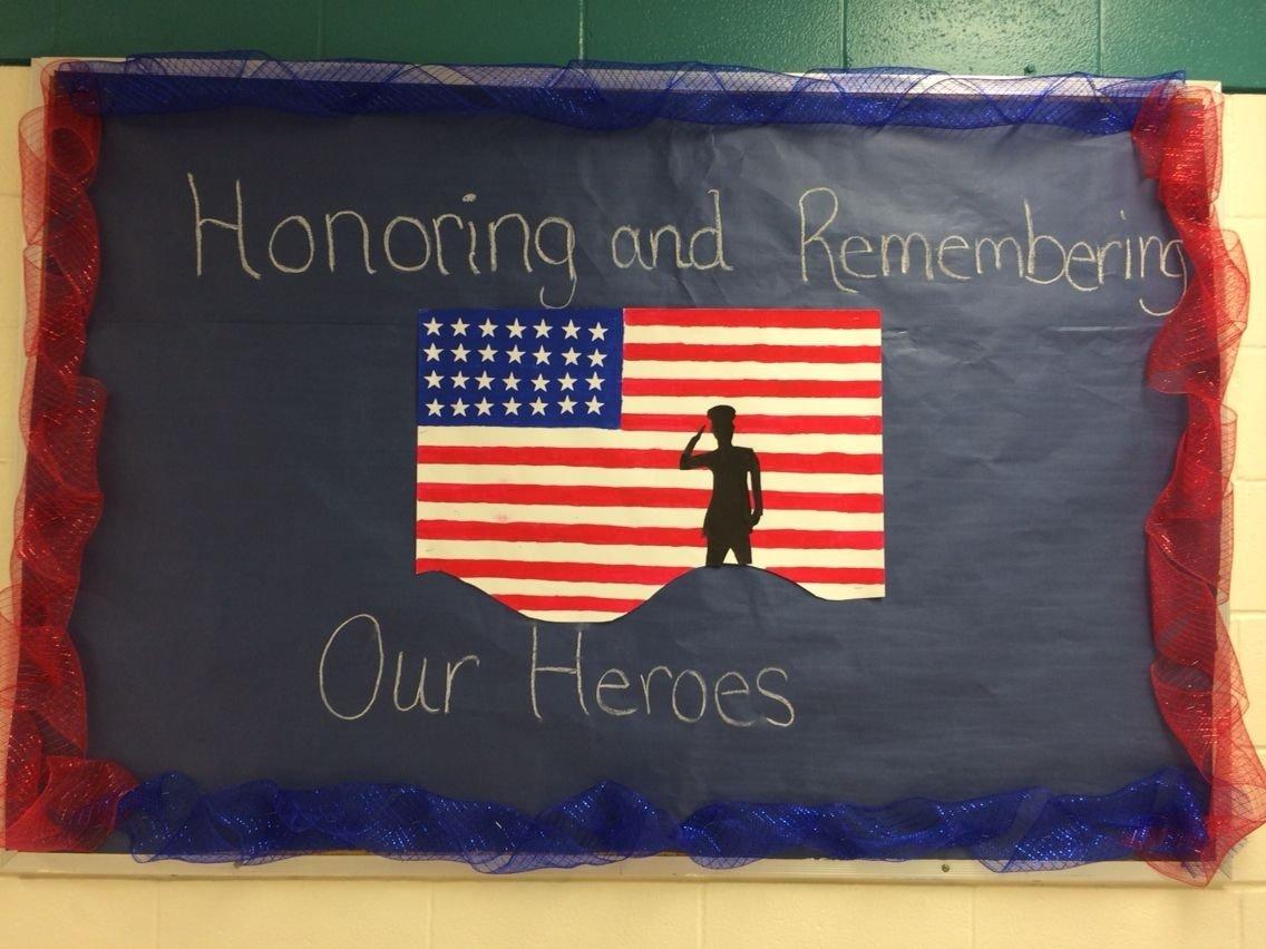 10 Lovely Veterans Day Bulletin Board Ideas honoring and remembering our heroesveterans day bulletin board 2020