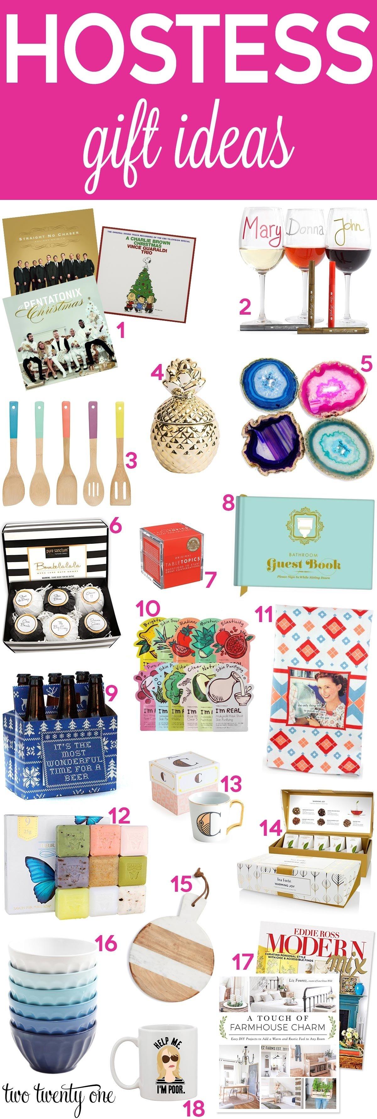 10 Stylish Christmas Party Hostess Gift Ideas hostess gift ideas