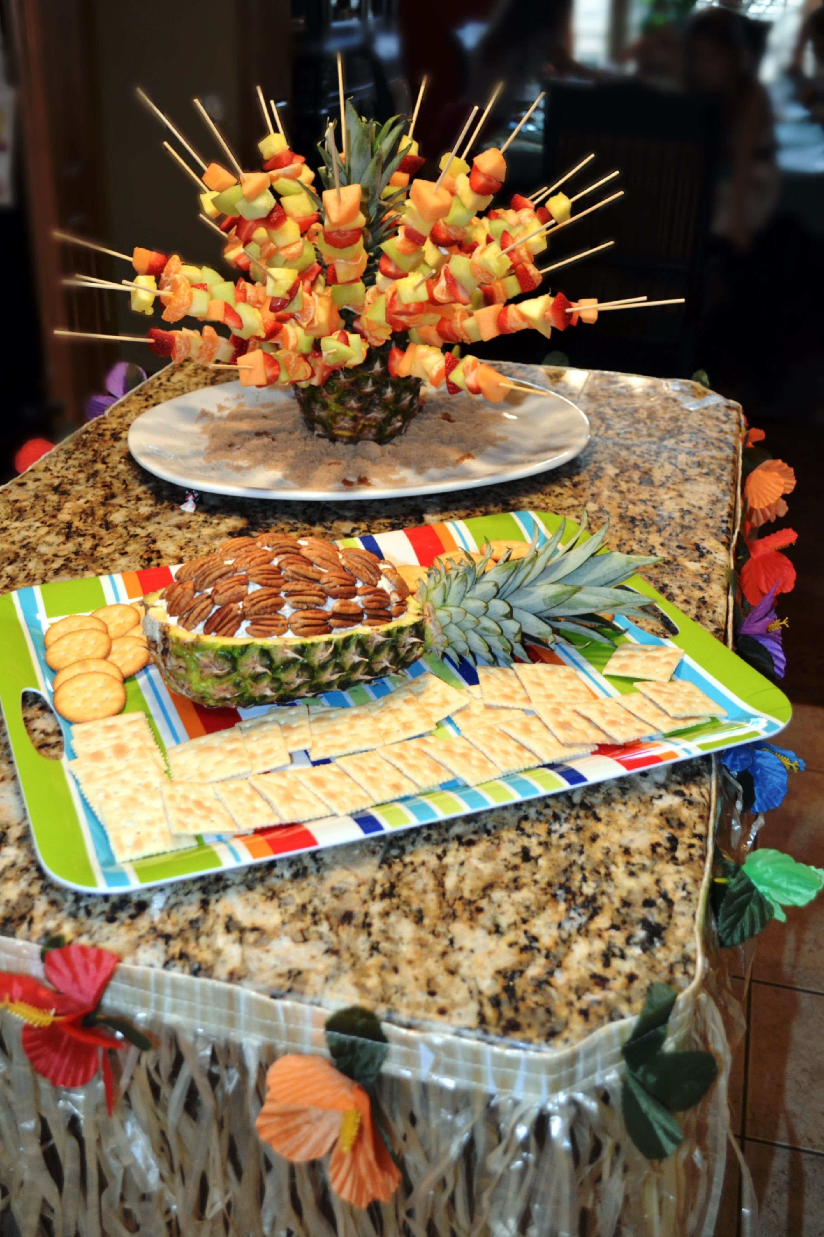 10 Gorgeous Winter Birthday Party Ideas For Adults hosting a luau this was a winter luau done inside in january eye 1