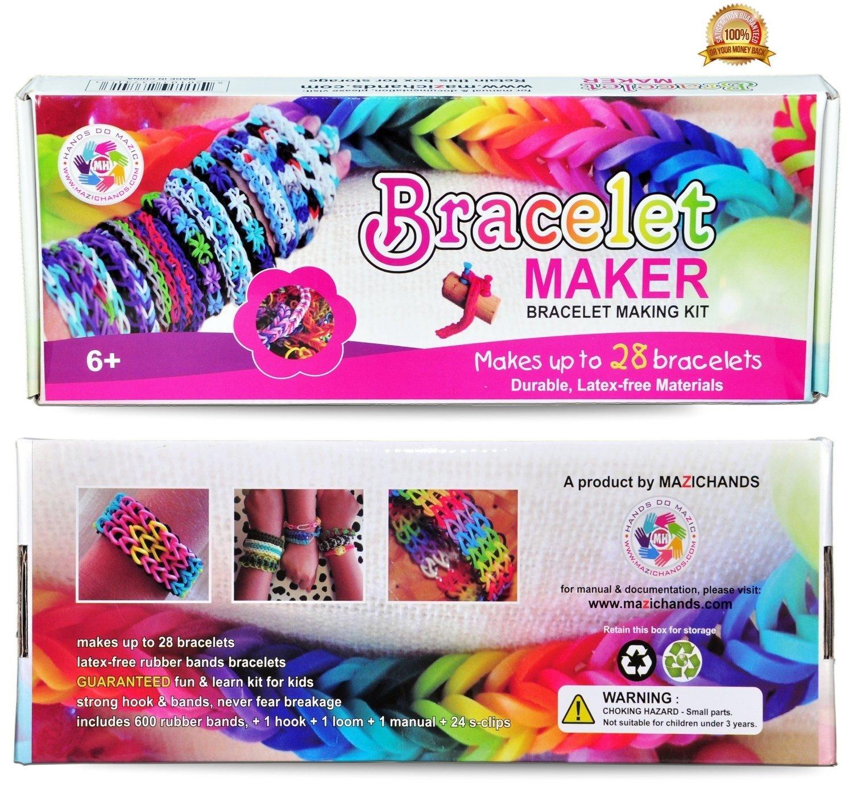 10 Famous Gift Ideas For 8 Yr Old Girl hot birthday gift premium rubber band bracelet kit friendship