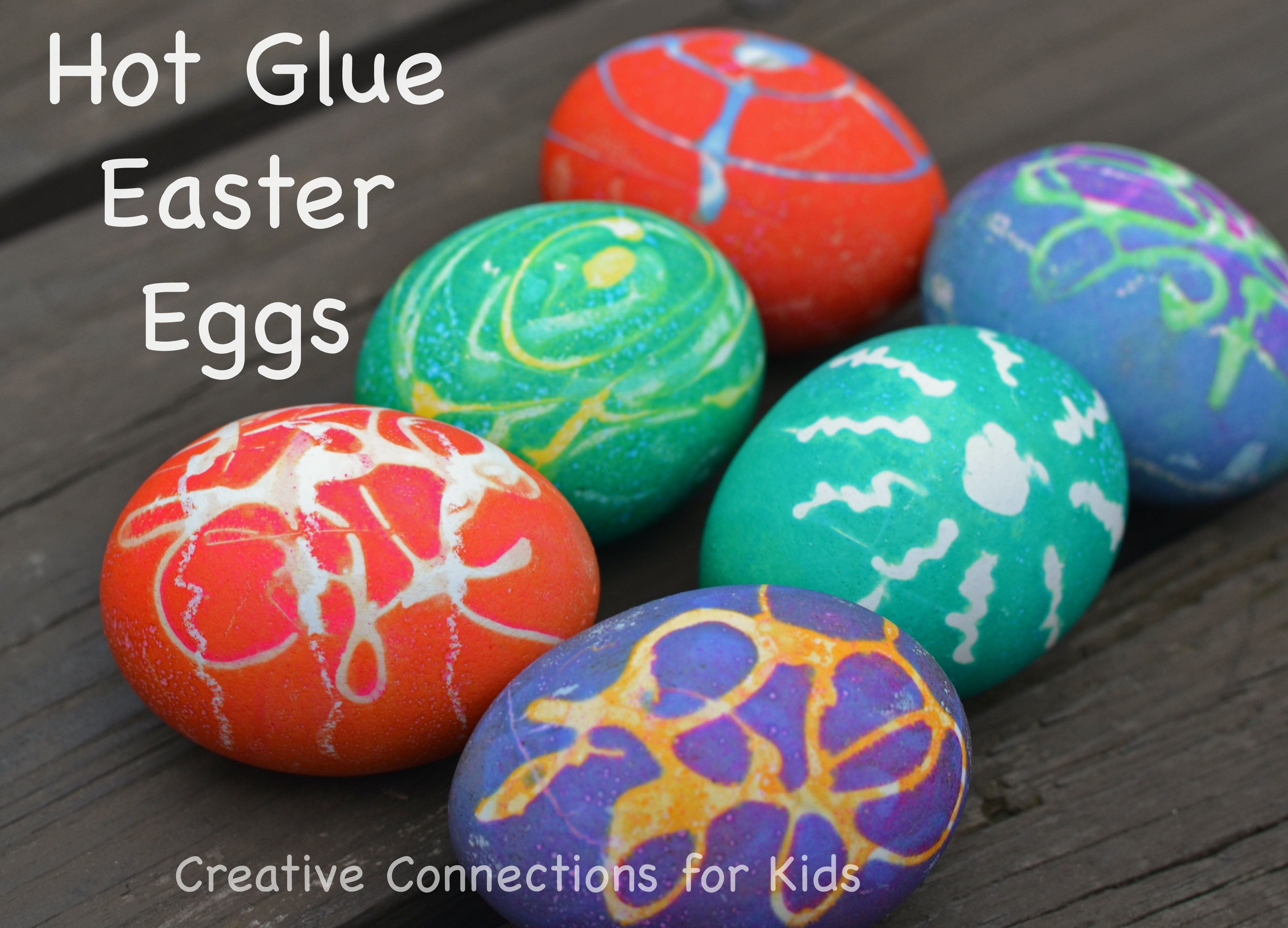 10 Cute Cool Easter Egg Decorating Ideas hot glue color beautiful easter eggs 2020