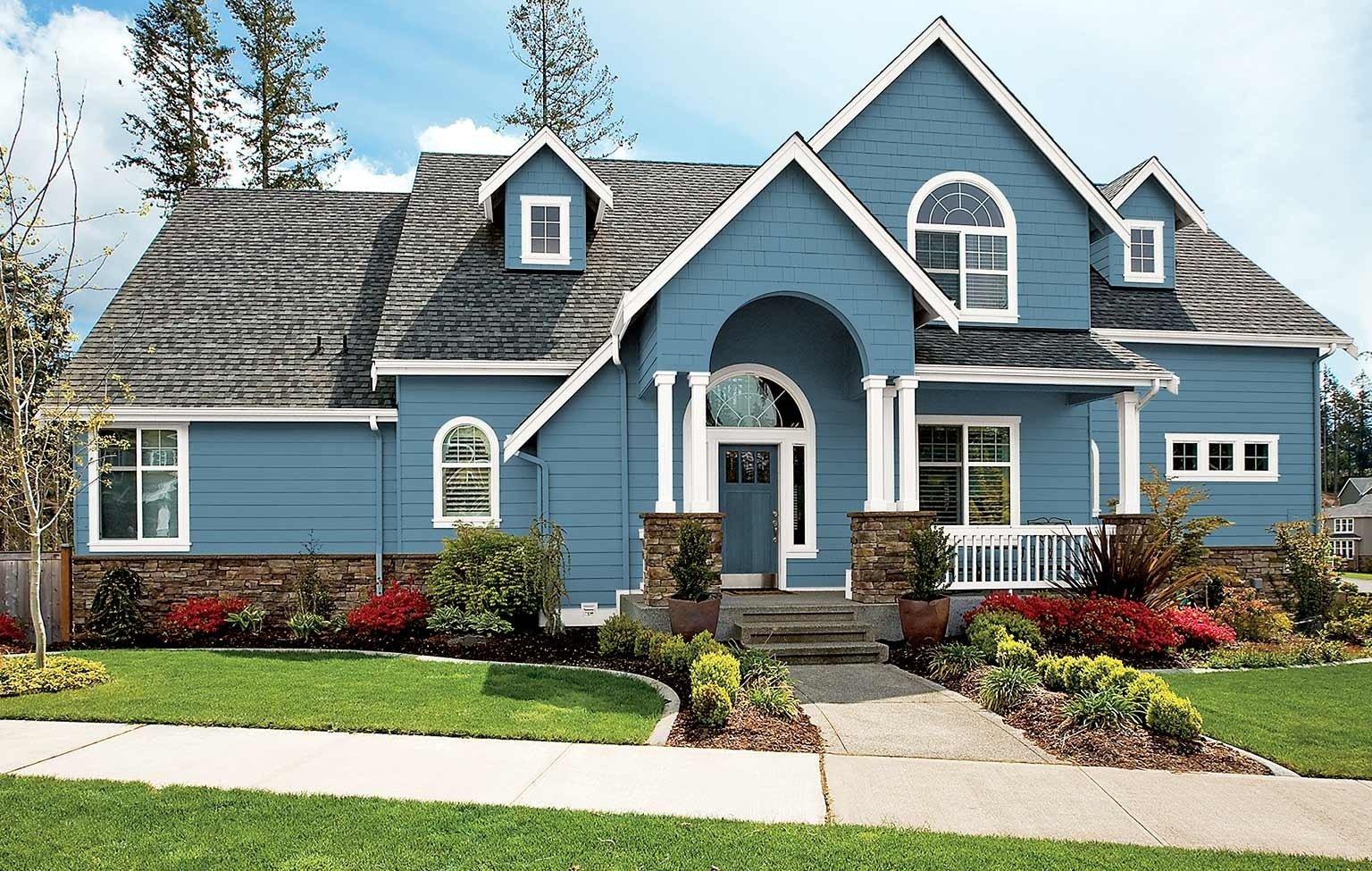 10 Fantastic Exterior Paint Ideas For Homes house paint colors for your exterior 1 2021