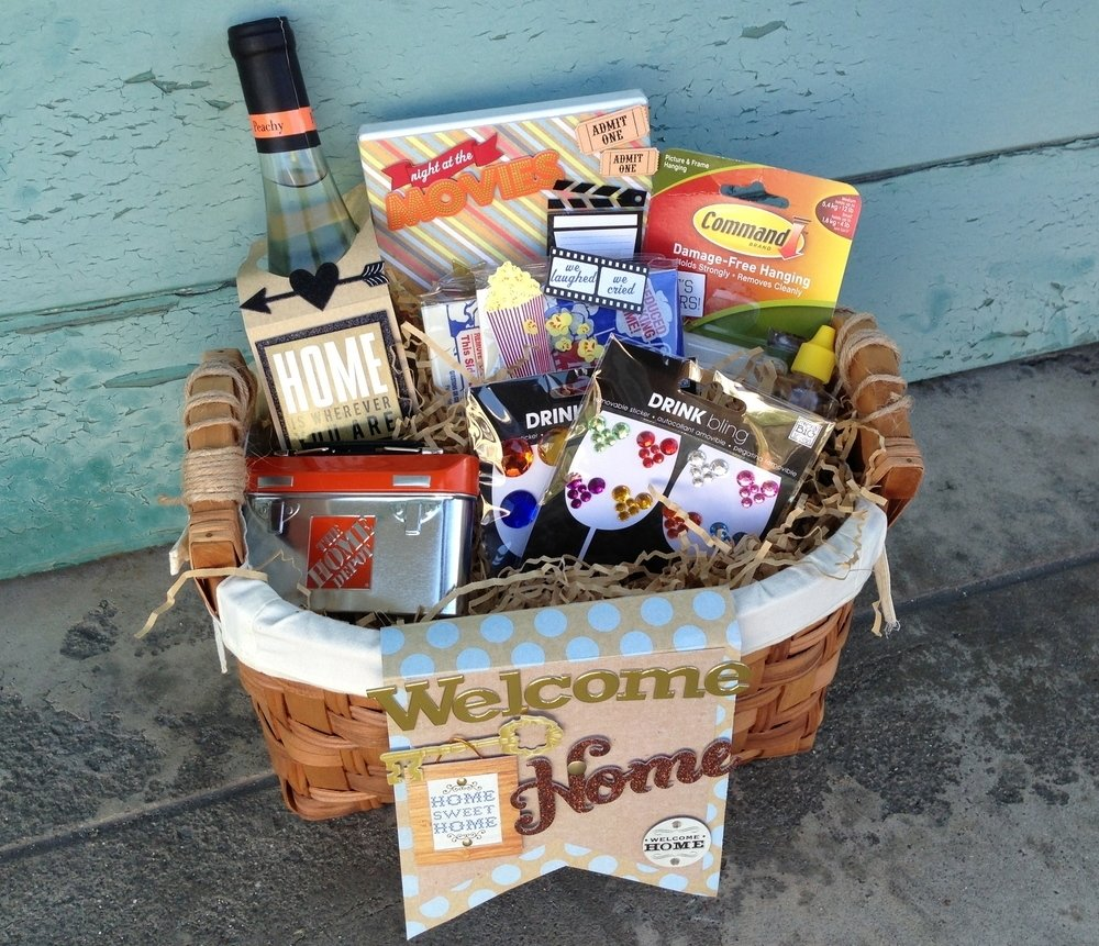10 Amazing New Home Gift Basket Ideas house warming goodie basket me my big ideas 2021