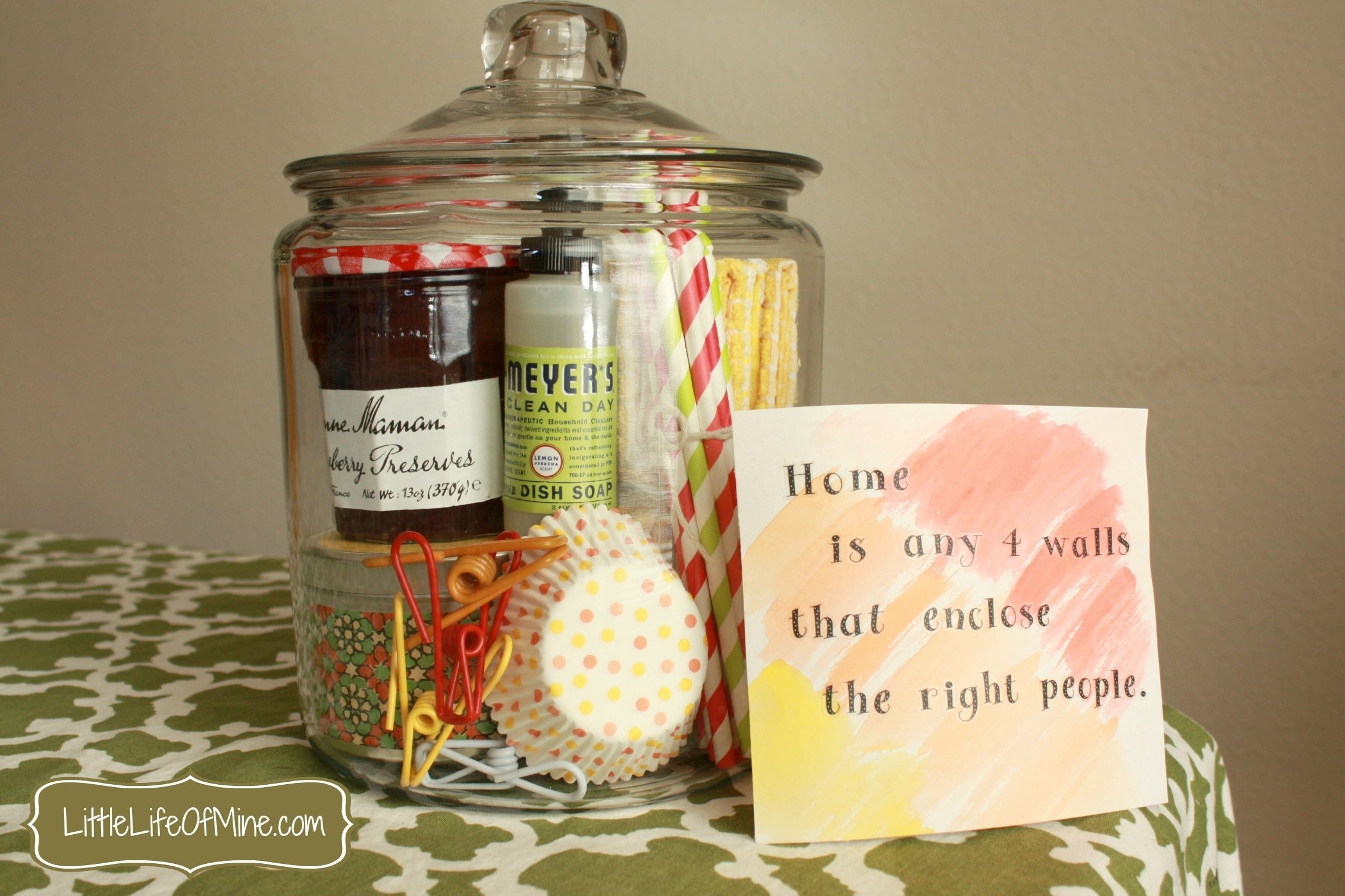 10 Beautiful Housewarming Gifts Ideas For Couples housewarming gift in a jar littlelifeofmine 2020