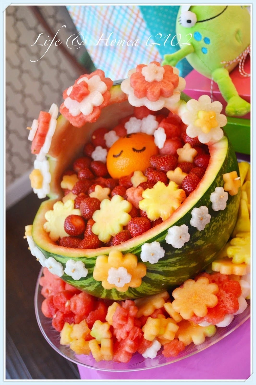10 Beautiful Fruit Ideas For Baby Shower how cute is this baby shower on a budget diys crafts recipes 2020