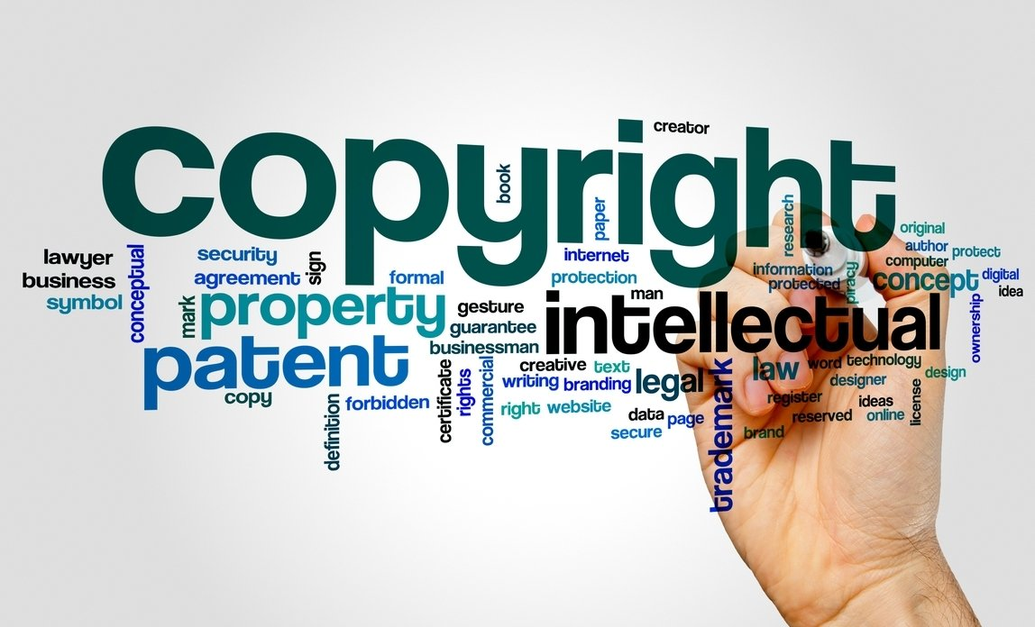 how does copyright work? | business law donut