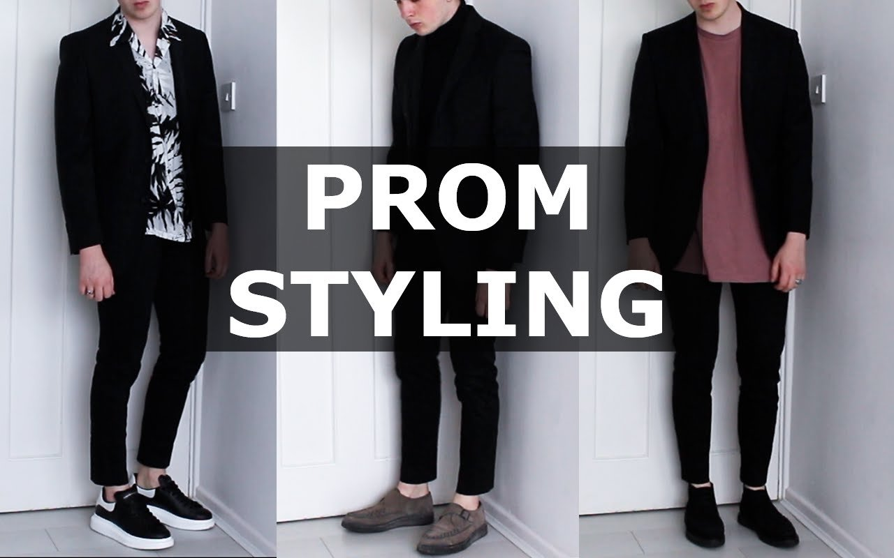 10 Fabulous Prom Outfit Ideas For Guys how i would style a suit for prom mens fashion gallucks ad 2020