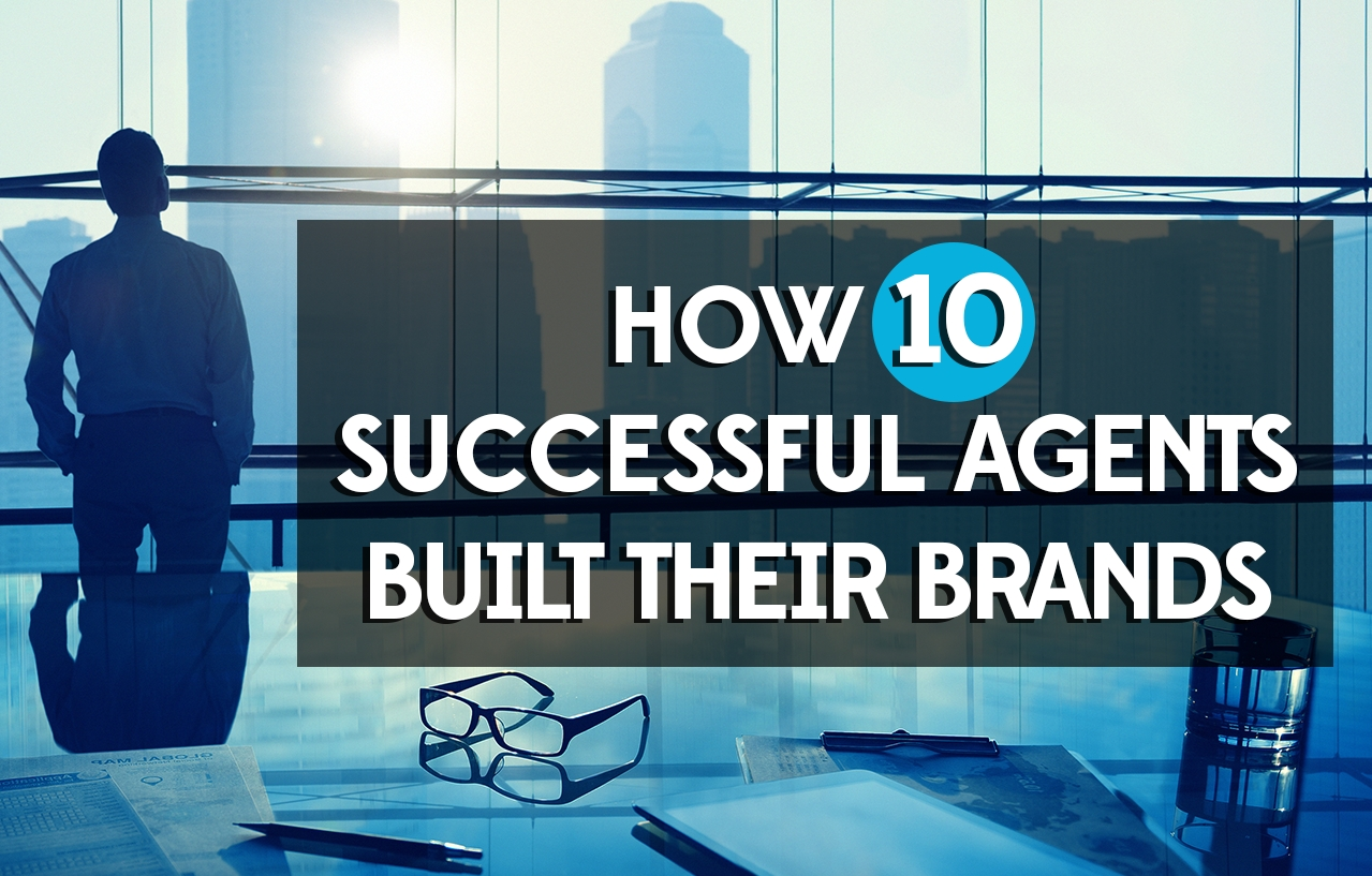 how successful real estate agents built brands