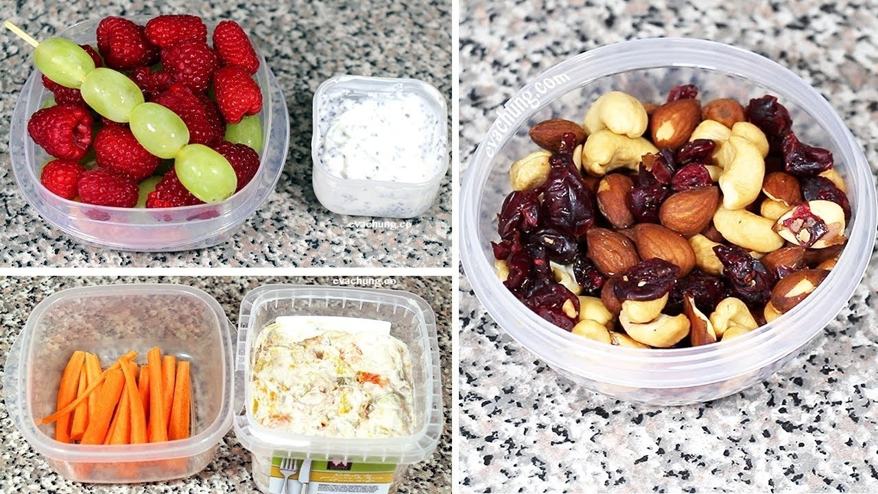 10 Fabulous Healthy Snack Ideas For School how to 3 back to school quick easy healthy snack ideas eva 2 2021