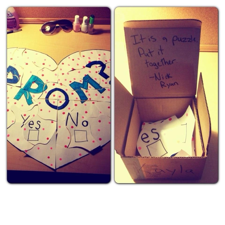 10 Stylish Asking A Girl To Homecoming Ideas how to ask a girl to prom 2013 bhs blueprint 1 2020