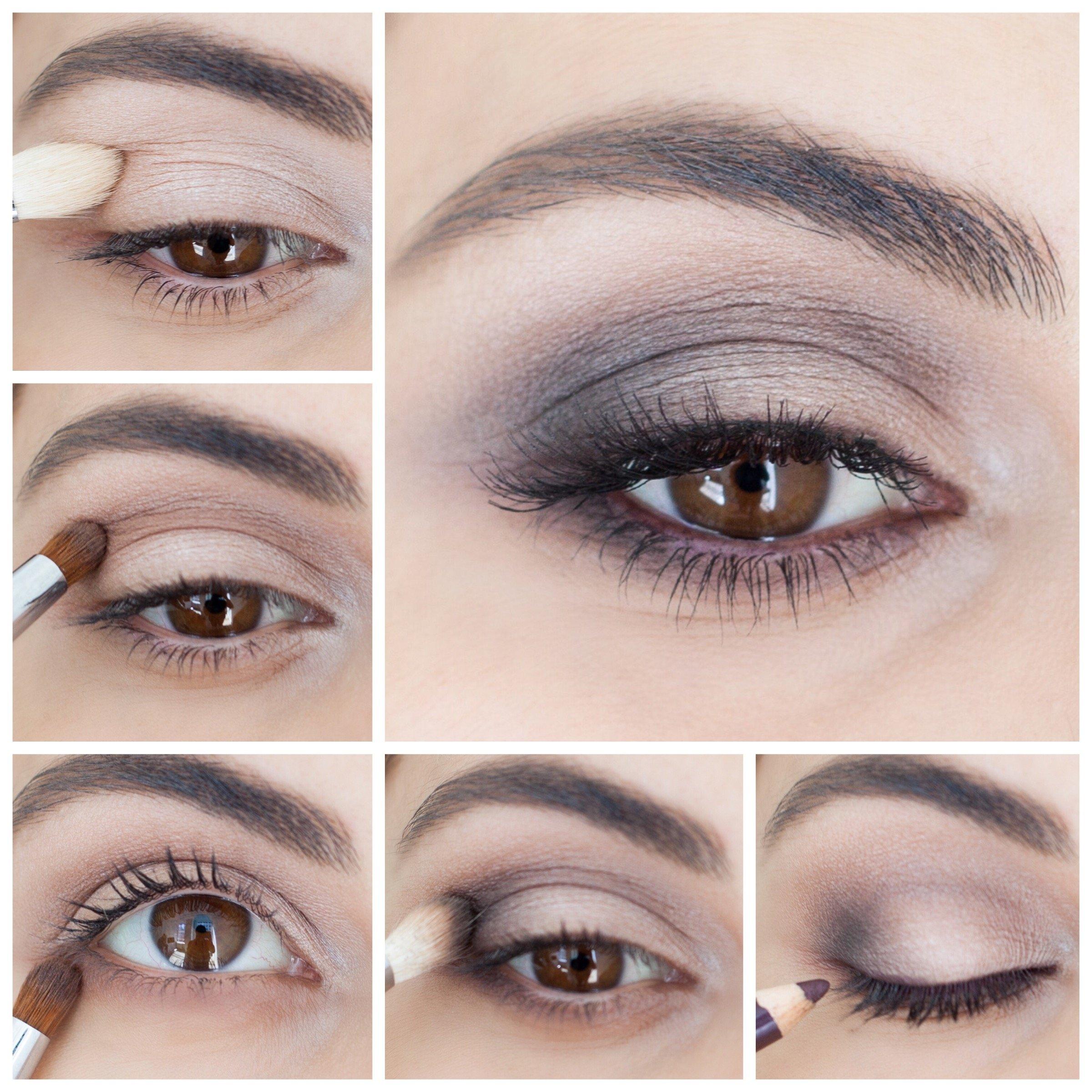 10 Best Eye Makeup Ideas Brown Eyes how to brown smokey eye simply sona 1