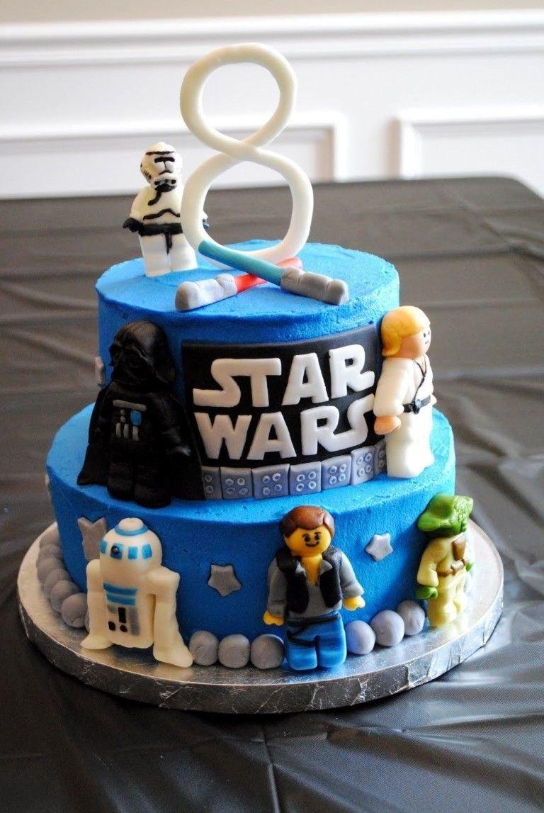 10 Fantastic Lego Star Wars Birthday Party Ideas how to choose good star wars cake ideas star wars birthday party 2021