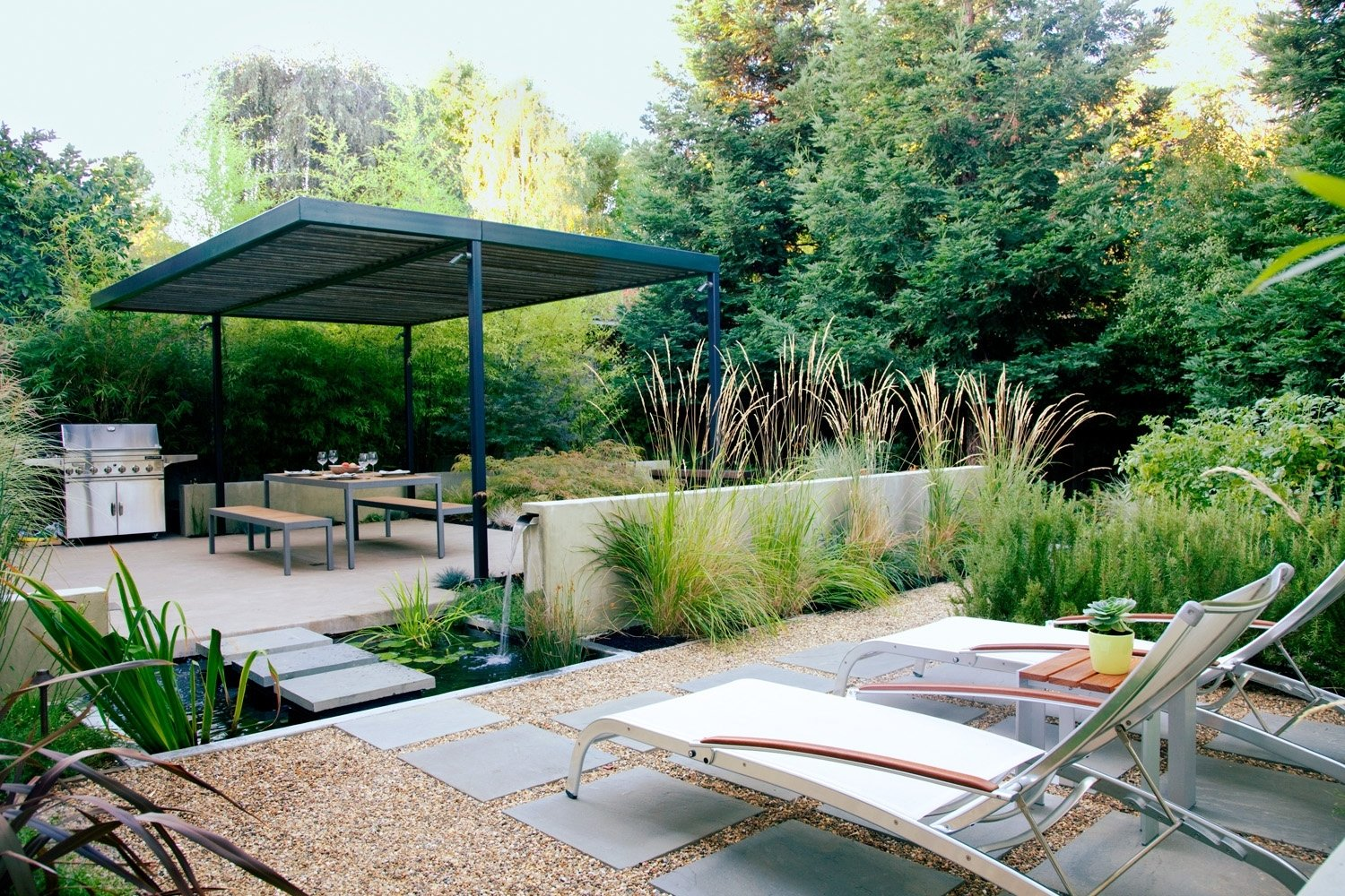 10 Wonderful Ideas For A Small Backyard how to create 4 outdoor rooms in a small backyard sunset magazine