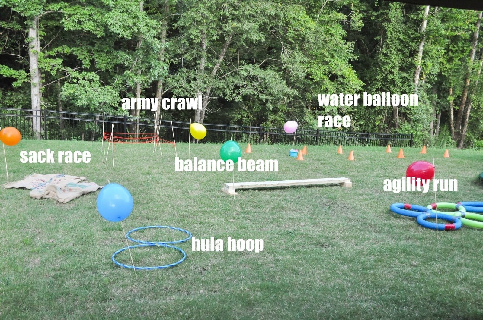 how to create a backyard obstacle course for your kids - pretty real