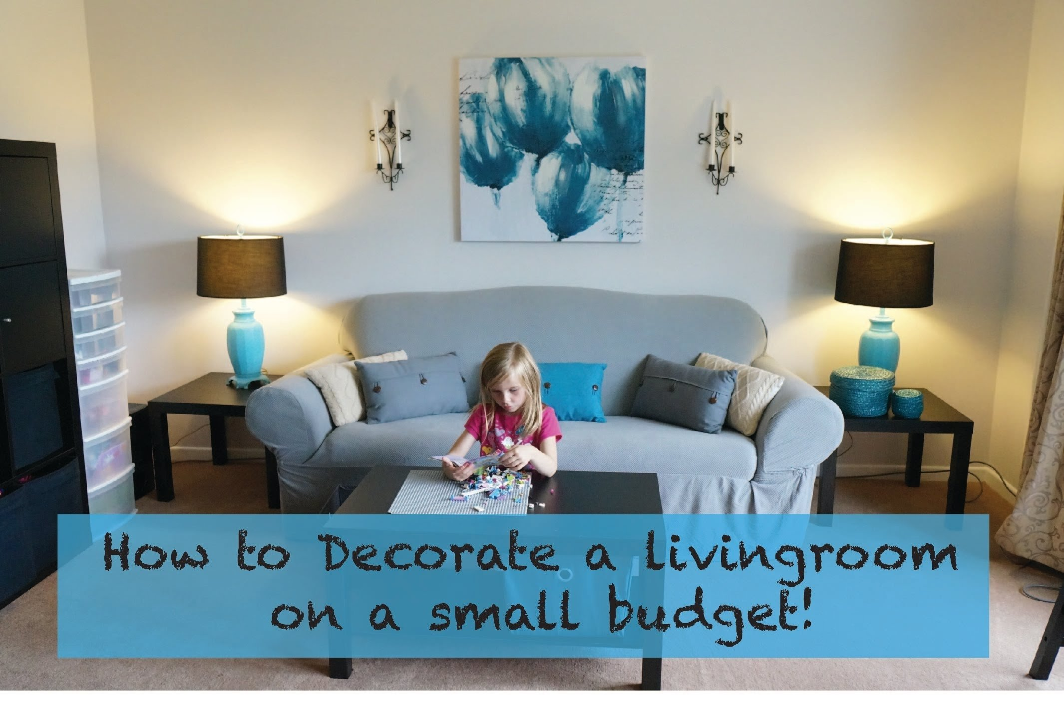 10 Stylish Living Room Ideas On A Budget how to decorate a living room on a really small budget youtube 2