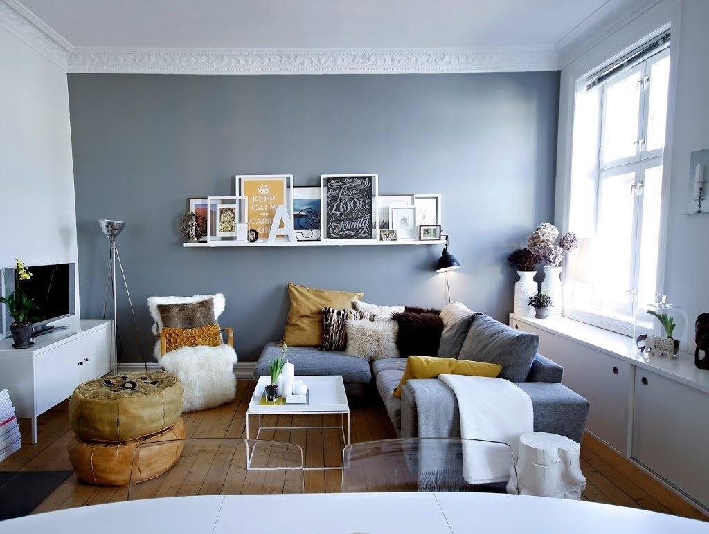 how to decorate a small living room painted : how to decorate a