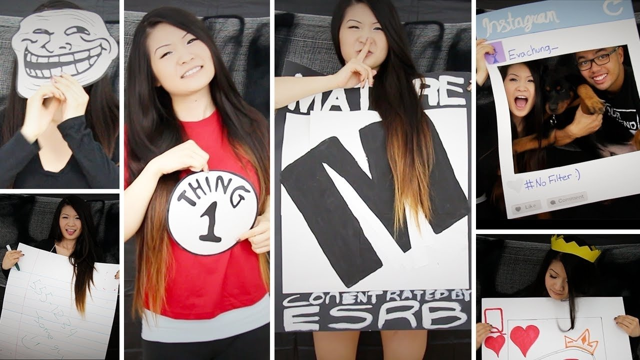 10 Ideal Last Minute Halloween Costumes Ideas how to diy last minute paper halloween costumes eva chung youtube