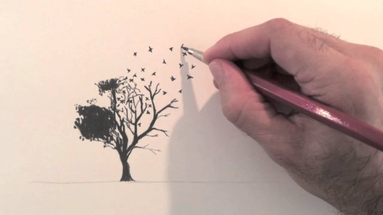 how to draw a surreal idea - fine art- tips - youtube