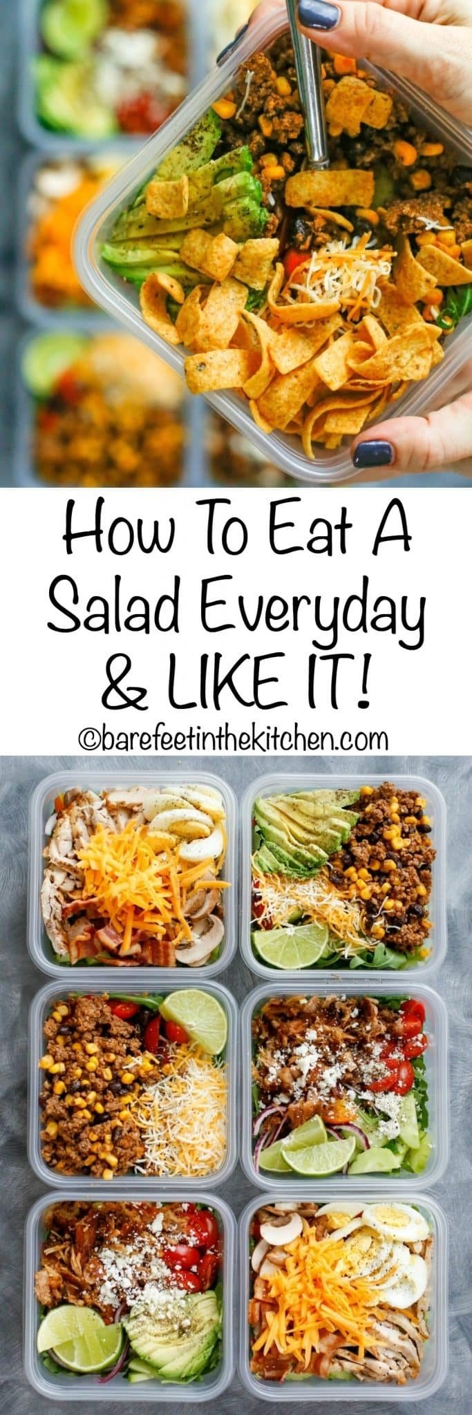10 Stylish Simple Lunch Ideas For Work how to eat salad every day and like it 2021