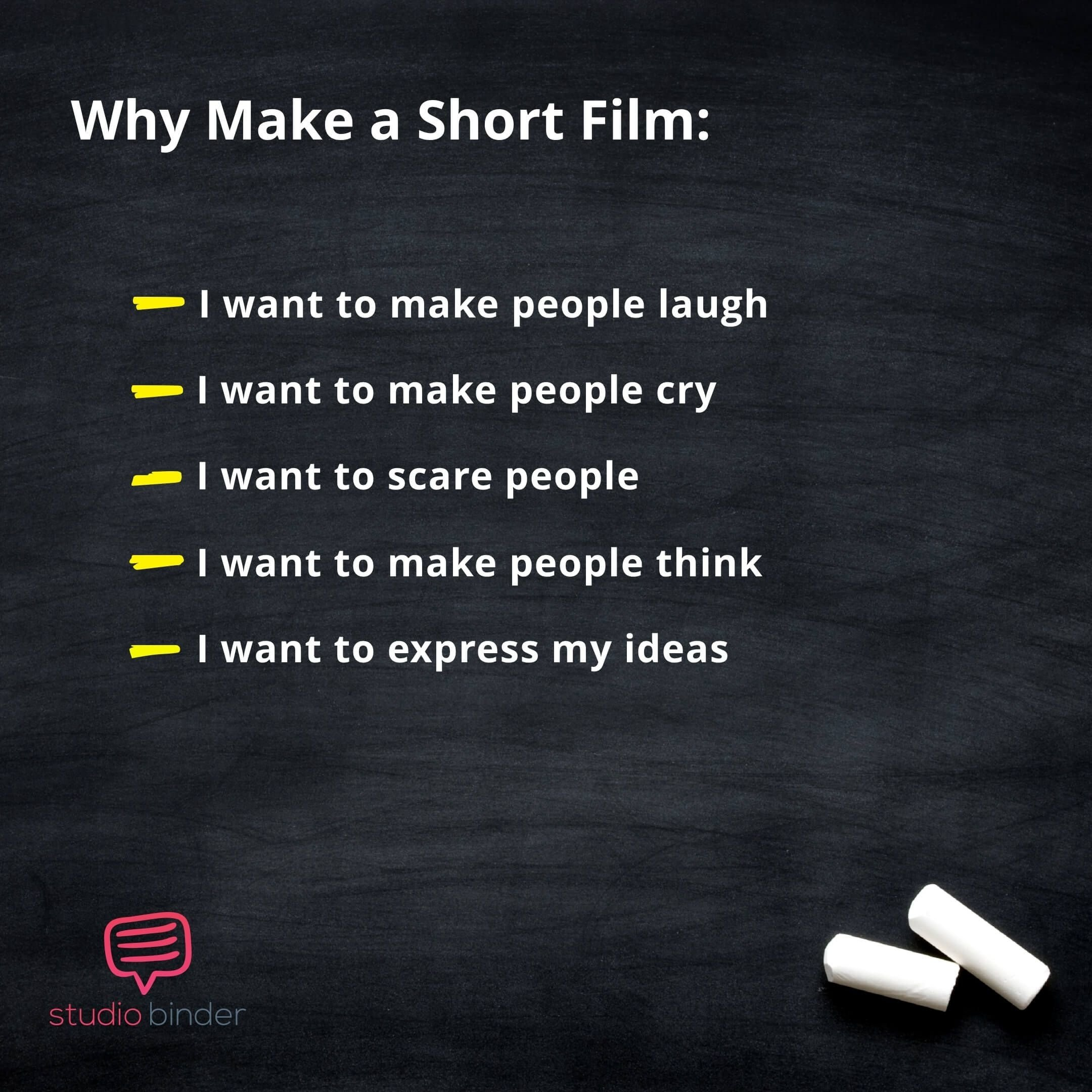 how to find short film ideas that will level-up your career | short