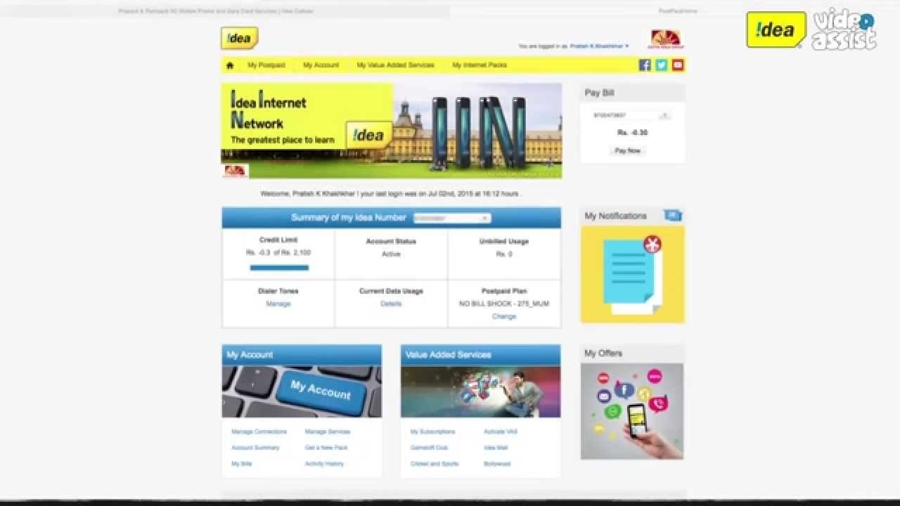 10 Fantastic Idea Postpaid Bill Payment Online how to get my account details for postpaid youtube 2020