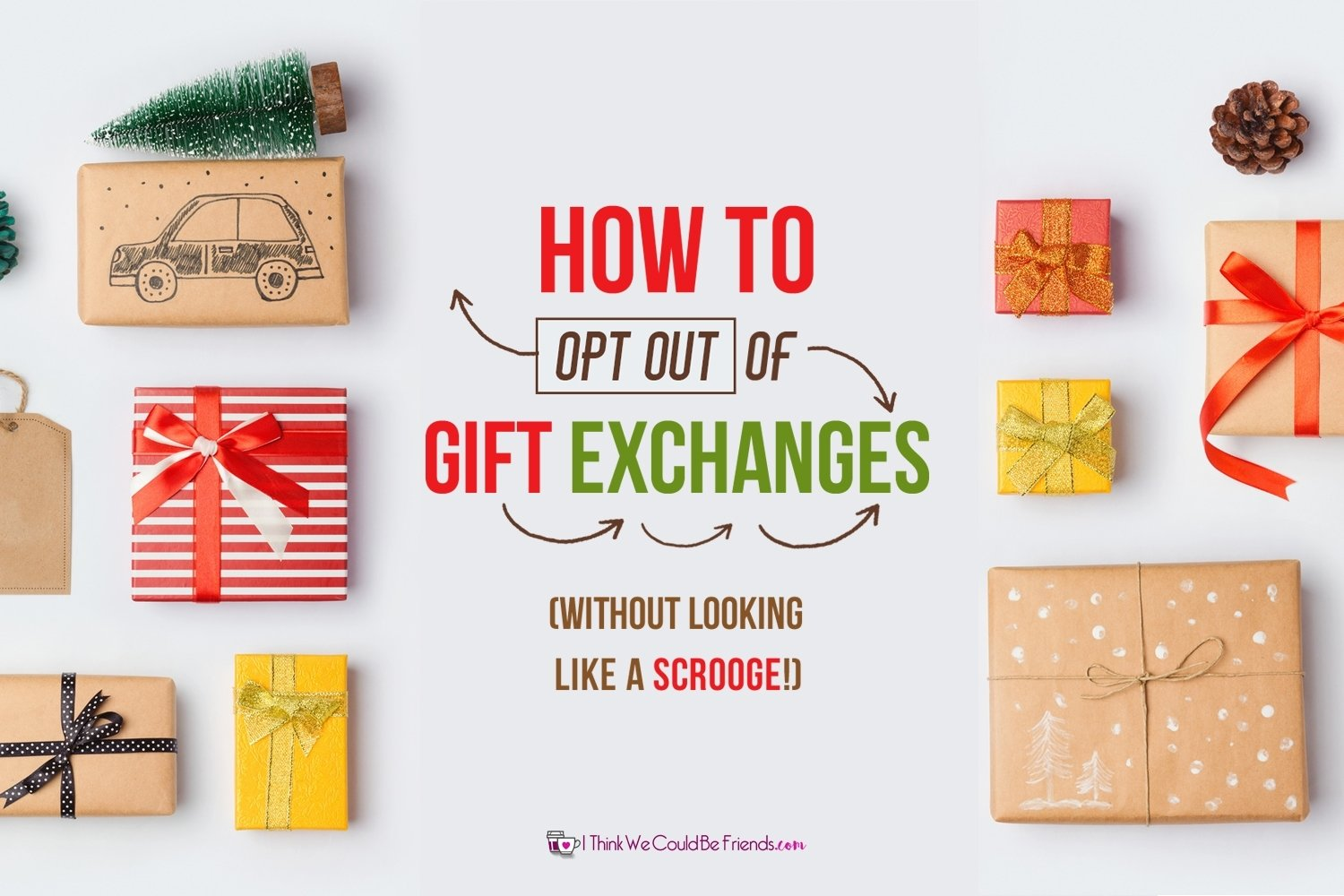 10 Stunning Office Christmas Gift Exchange Ideas how to get out of christmas gift exchanges and not look like a