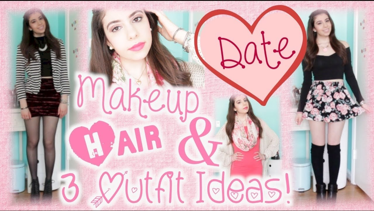 10 Most Recommended First Date Ideas For Teenagers how to get ready for a valentines day date 3 outfit ideas youtube
