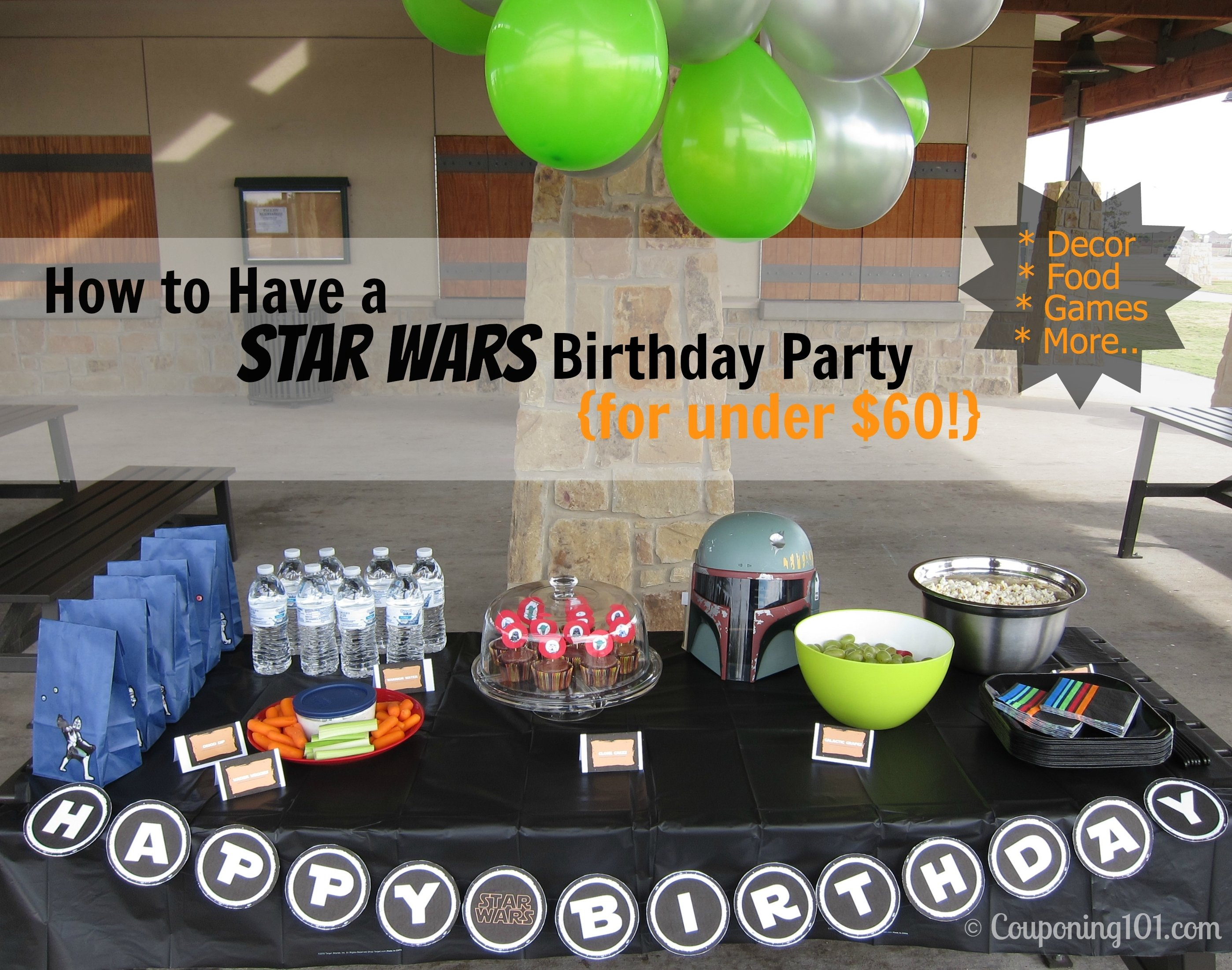 10 Lovely Star Wars Birthday Party Ideas how to have a star wars birthday party for under 60 couponing 101 2020