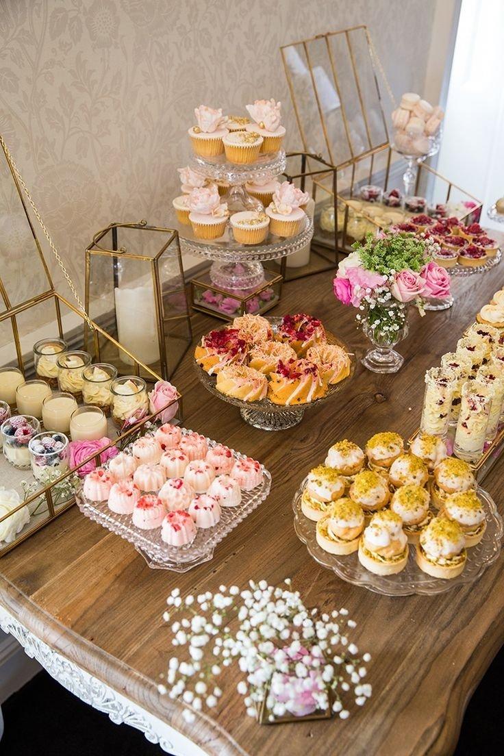 10 Trendy Dessert Table Ideas For Wedding how to host a beautiful bridal shower bridal shower desserts dessert 2020